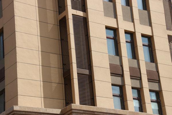 锌钢造型百叶窗2